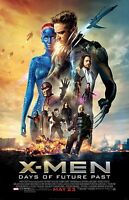 X-Men Days Of Future Past movie poster (a) James McAvoy, Michael Fassbender