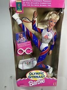 Vintage 1995 Mattel Barbie Olympic Gymnast Atlanta Games Never Opened New In Box
