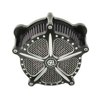 1x Air Cleaner Intake Filter Motorcycle For Harley FLHT FLSTF FLTR FLHR Touring