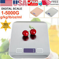 5kg 10kg/1g LCD Digital Kitchen Food Diet Electronic Weight Balance Scale Home