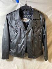 Pristine Harley Davidson Leather Jacket Womens Small