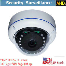 2.0 Megapixel 180degree dome lens Home security cctv IR Night AHD camera