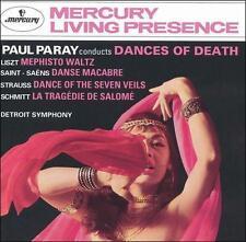 CD:Paul Paray Conducts Dances of Death - DETROIT SYMPHONY