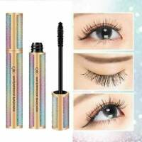 4D Silk Fiber Eyelashes Lash Mascara Waterproof Long-Lasting Extension MakeUp
