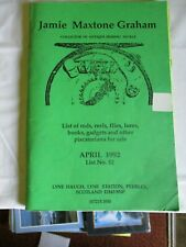 List of rods and reels flies lures gadgets and other piscatorina for sale 1992