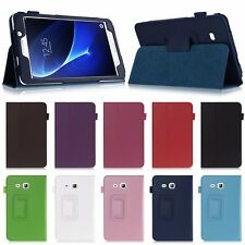 New Folio PU Leather Case Cover Stand For Samsung Galaxy Tab A 8.0 SM-T350 T351