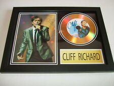 CLIFF RICHARDS     SIGNED  GOLD CD  DISC 22