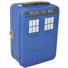 Nouveau Tardis tin fourre-tout lunch box Rétro Enfants officielle Doctor Who Dalek Cadeau École