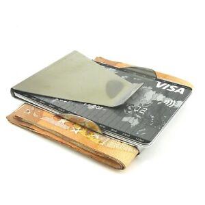 Geldscheinklammer Edelstahl.  Geldklammer   Money Clip   Geldclip   Kartenhalter