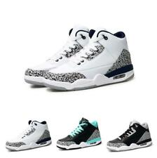 New Mens Breathable High Top Casual Sport Basketball Sneakers Shoes