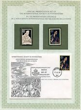 FIRST DAY OF ISSUE / 1° JOUR / STAMP / TIMBRE ARGENT / ESPANA / ESPAGNE GRECO