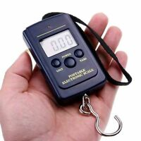 New 40kg 10g Electronic Hanging Fishing Luggage Pocket Digital Weight Scale EH
