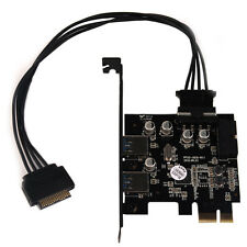 Super Speed Mac OS USB 3.0 2 Port PCI Express Host Controller Card 15 Pin Cable