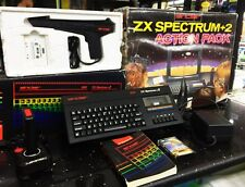HOME COMPUTER SINCLAIR SPECTRUM ZX +2 128k ACTION PACK+ SCART RGB + IMBALLO