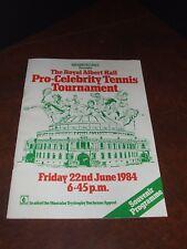 SEAN CONNERY Authentic Signed Pro - Celebrity Tennis Programme 1984 UACC COA