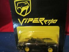 DODGE Viper 1997 hot wheel club unpunched card bent Limited Edition 1/64