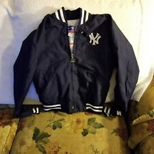 NEW YORK YANKEES JACKET - YOUTH SMALL - THROWBACK - STARTER
