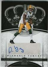 5261f262a 2017 Panini Crown Royale Rookie Autograph AUTO  26 DeAngelo Yancey Packers