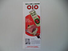 advertising Pubblicità 1968 OLIO DI SEMI OIO