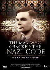 MAN WHO CRACKED NAZI CODE Alan Turing DVD Documentario Inglese NEW .cp
