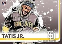 Fernando Tatis Jr All Eras Sports Custom Rookie Card Remix - Brown Jersey