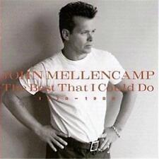 JOHN MELLENCAMP BEST THAT I COULD DO 1978-1988 CD NEW
