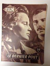 AMOR FILM N°47 1955 LE DERNIER PONT / MARIA SCHELL