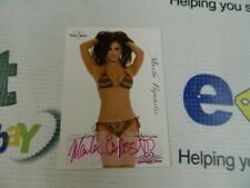 """autographed Bench Warmer Cards """"MARLA ESPOSITO"""" From Series In 2005"""