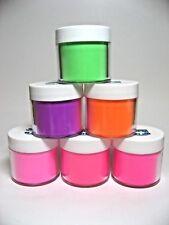 Jenni Color Acrylic Design Powder - Neon Colors & Glow in the Dark Colors - 2 oz