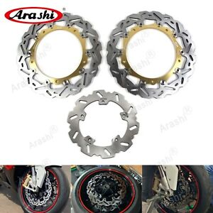 For BMW S1000RR 2010-2015 S 1000 RR 2011 2012 2013 Front Rear Brake Disc Rotors