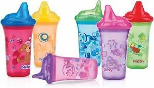 Nuby ID10018 – Bottles, Hard Spout, single piece, assorted colours