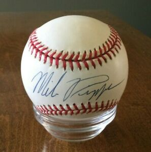 Mike Piazza Signed Autographed Baseball W/ COA Dodgers Mets