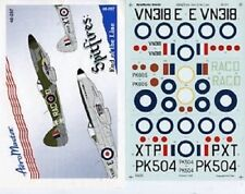AEROMASTER 48-297 - DECALS 1/48 - SPITFIRES: END OF LINE