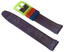 Original Swatch 17mm Kunststoff Armband Spray Up ASDN103 Neuware
