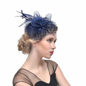 Women Headband Alice band Hat Fascinator Weddings Ladies Day Race Royal Ascot UK