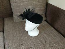 """Hat Fascinators """"Kangol"""" Velvet Black Color Size: 20 cm x 20 cm New Without Tags"""