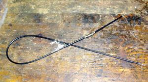 Throttle cable gaszug T120 1968 60-0660 D660 Bonneville 2in2 NO junction box