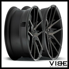 "19"" NICHE TARGA MACHINED CONCAVE WHEELS RIMS FITS INFINITI G37 G37S COUPE"