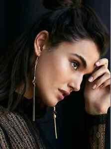 NEW FREE PEOPLE KEYSTONE SHOULDER DUSTER EARRINGS