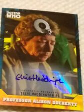 Doctor Who Signature autograph card ELLIE HADDINGTON