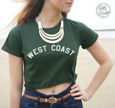 Maglie e camicie da donna verde di cotone taglia 46