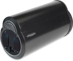 Bazooka BTA6100 6-Inch Amplified Bass Tube 100W 2 Ohm W/ Built In 2-Ch Amplifier