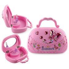 1x Ballerina Musical Jewelry Box Music Storage Box for Kids Gifts Pink