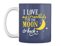 Must-have I Love My Grandkids - To The Moon & Back Gift Coffee Gift Coffee Mug