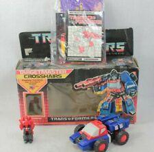 Hasbro Transformers TARGETMASTER CROSSHAIRS Original G1 Action Figure 1986