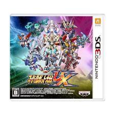 Super Robot Taisen UX (2013) Brand New Factory Sealed Japan Nintendo 3DS Import