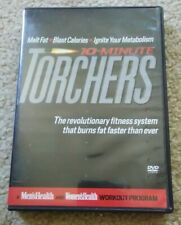 10 MINUTE TORCHERS 3 DVD SET MEN'S AND WOMEN'S HEALTH WORKOUT PROGRAM