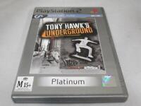 Tony Hawk's Underground PS2 (Platinum) PAL *Complete*