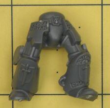 WARHAMMER 40K Space Marines CAVALIERI GRIGI TERMINATOR gambe (e)