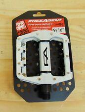 "Platform Bike Pedals Clear Polycarbonate Molded Pins 1//2/"" BMX Free Agent"